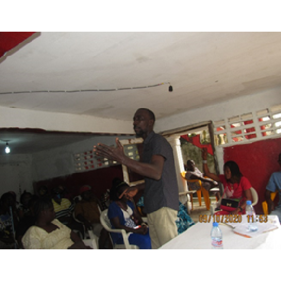 DEKAP-LIBERIA HOLD A ONE DAY WORKSHOP ON RAPE AWARENSS WITH BENEFACIRAY